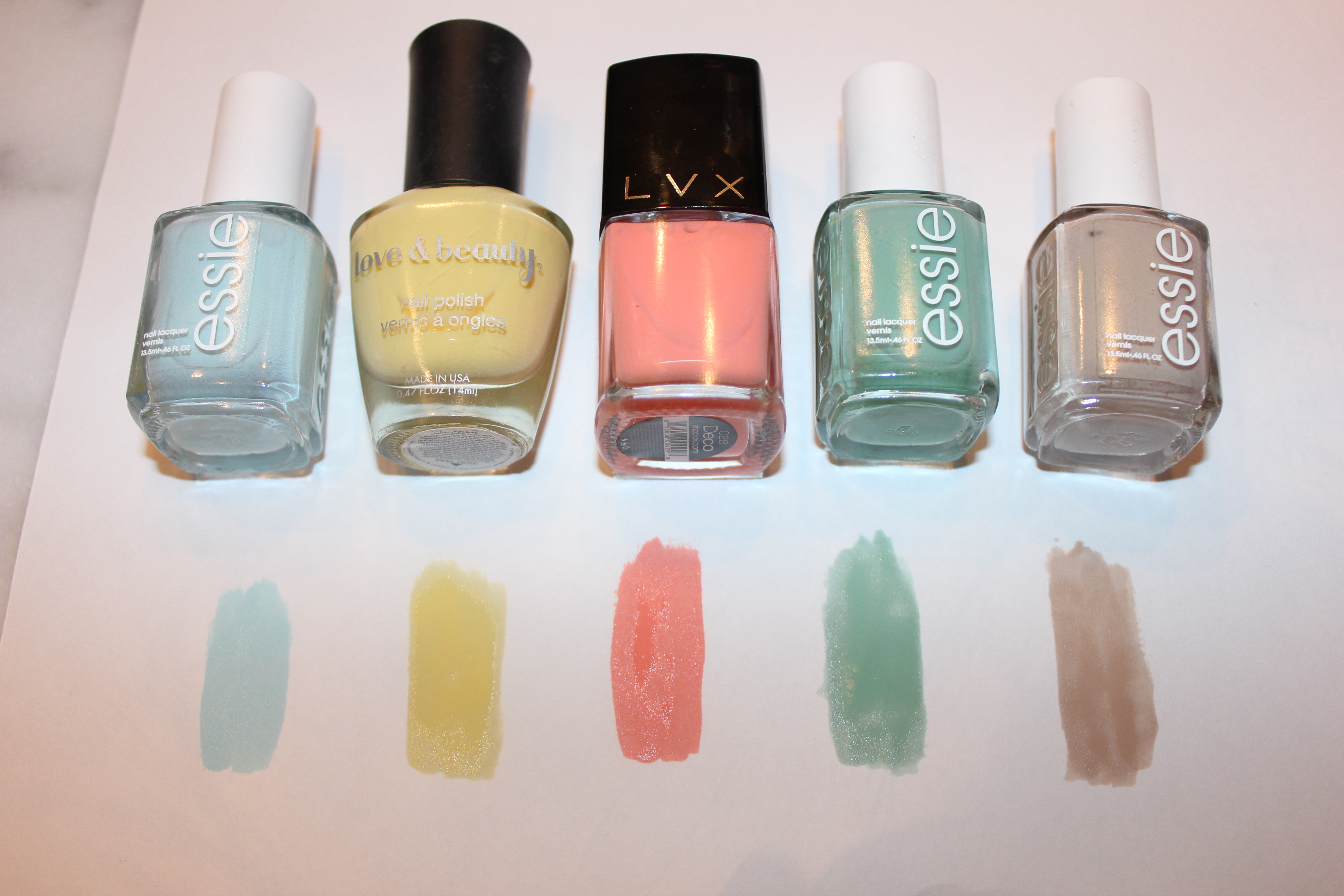 Spring 2014 Nail Colors  40 Best Nail Polish Colors for